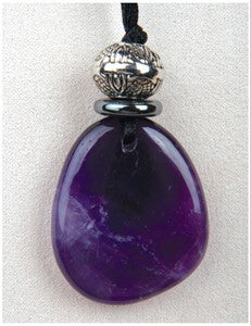 Amethyst Majesty Medicine Stone Necklace