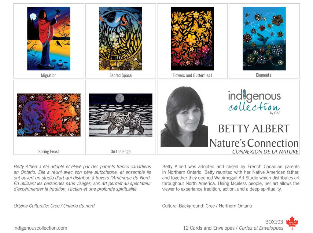 Nature's Connection Boxed Note Cards by Betty Albert