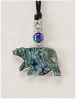Bear Journey Medicine Stone Necklace