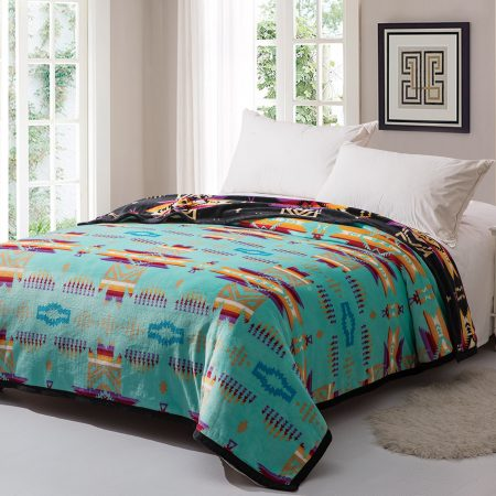 Native Design Reversible Blankets