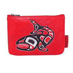 Salmon Coin Purse