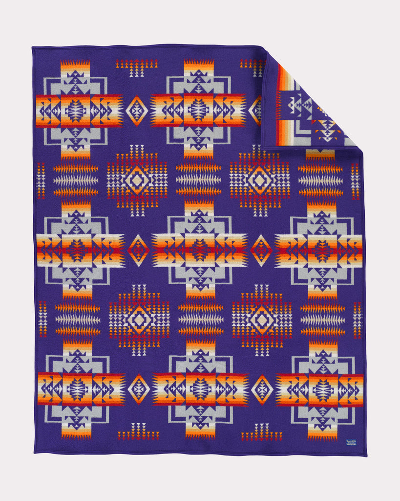 Chief Joseph Blanket in Purple by Pendleton