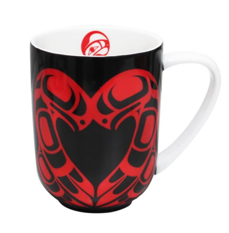 Eagle Heart Mug by Roy Henry Vickers
