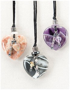 Gentle Heart Medicine Stone Necklace