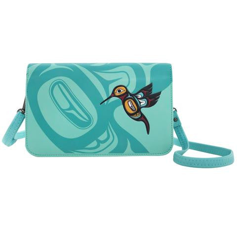 Crossbody Purse-Hummingbird