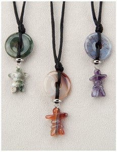 Inukshuk,(Mini), Medicine Stone Necklace