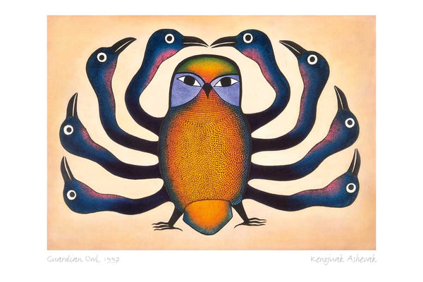 Kenojuak Ashevak Collection Boxed Set Note Cards