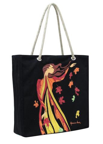 Leaf Dancer Tote Bag