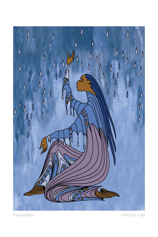 Rainmaker by Maxine Noel Art Card