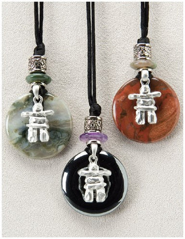 Inukshuk Reflection Necklace