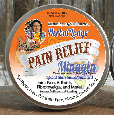 Minagin - Natural Pain Relief Topical Salve / Ointment