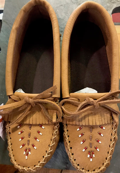Vintage Ladies Moccasin