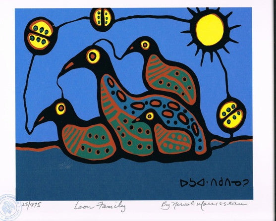 Loon Family Limited Edition Print