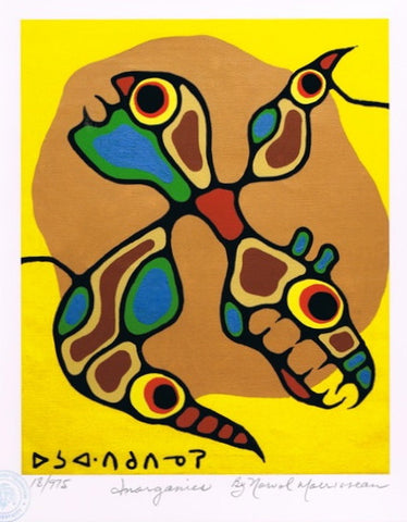 Inorganics Limited Edition by Norval Morrisseau