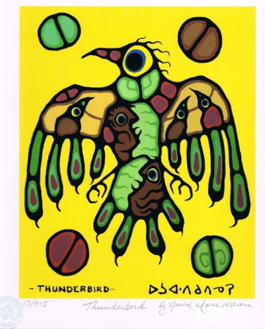 Thunderbird Limited Edition Print by Norval Morrisseau