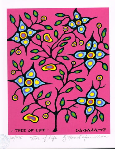Tree of Life Limited Edition Print by Norval Morrisseau