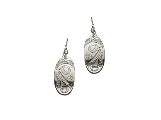 Orca Earrings, Oval