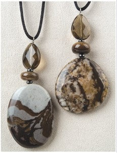 Outback Jasper Medicine Stone Necklace