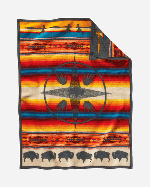 Big Medicine Baby Blanket by Pendleton