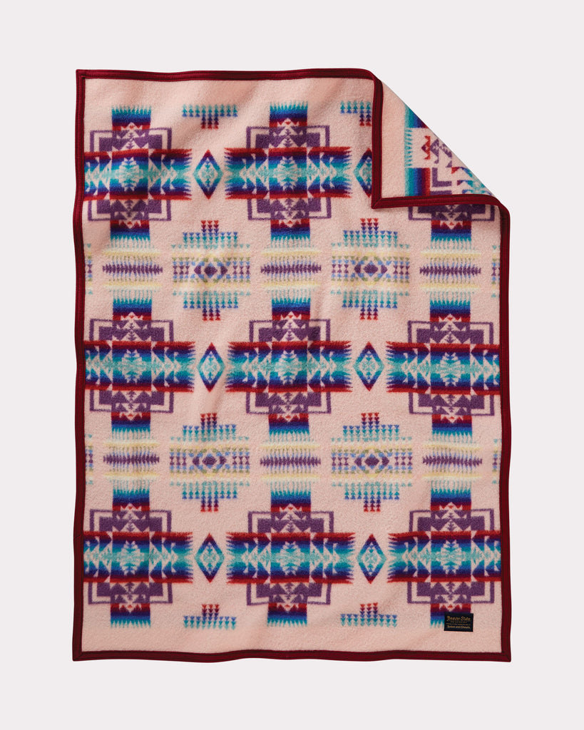 Chief Joseph Baby Blanket by Pendleton, Pink