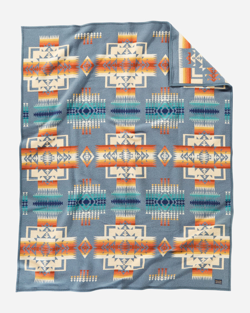 Chief Joseph Blanket in Slate by Pendleton