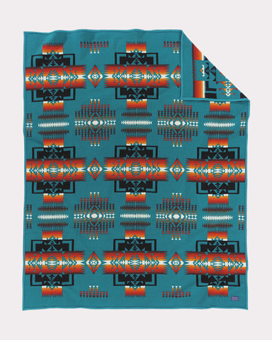 Chief Joseph Blanket by Pendleton, Turquoise