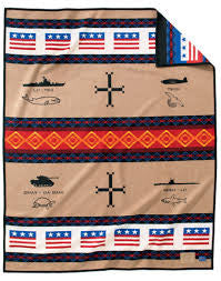 Code Talkers Blanket by Pendleton