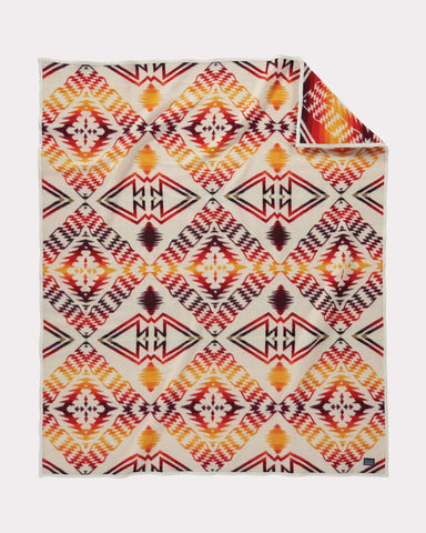 Thunder and Earthquake Blanket by Pendleton, Ivory