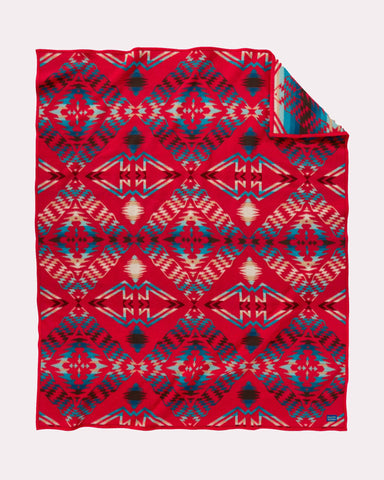 Thunder and Earthquake Blanket by Pendleton, Scarlet