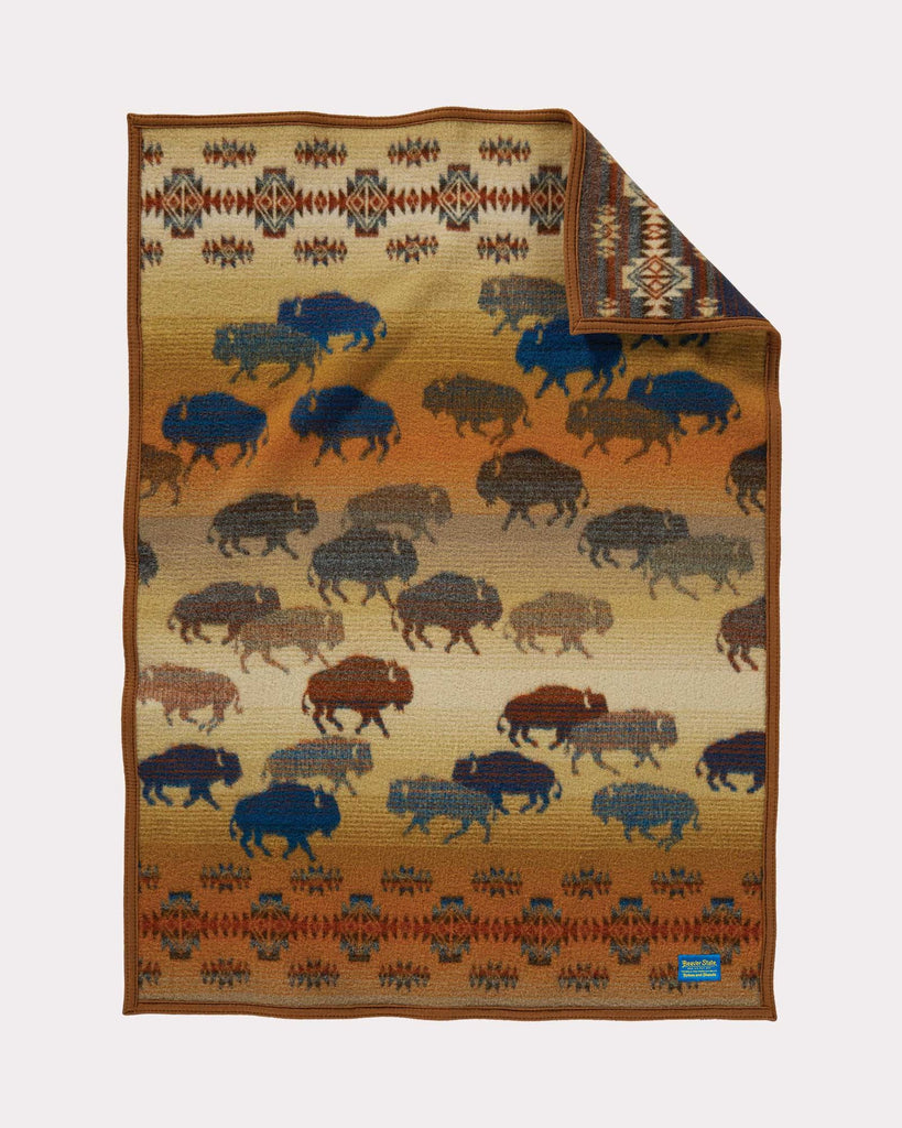 Prairie Rush Hour Baby Blanket by Pendleton