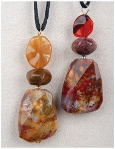 Pietersite Splendor Medicine Stone Necklace