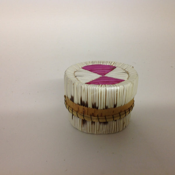 Pink/White Quill Box