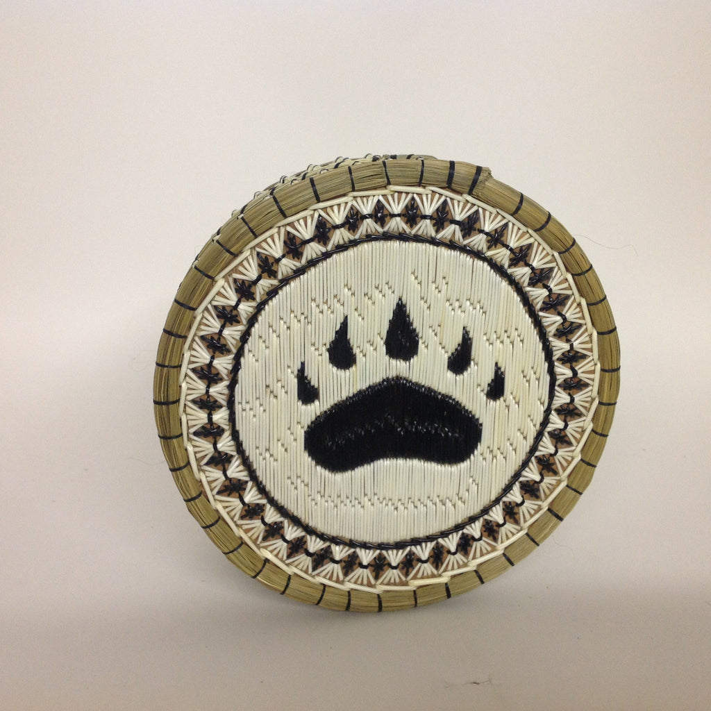 Bear Paw Quill Box