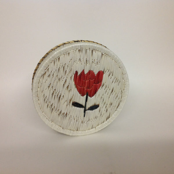 Red Tulip Quill Box
