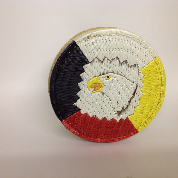 Eagle and Sacred Colour Quill Box