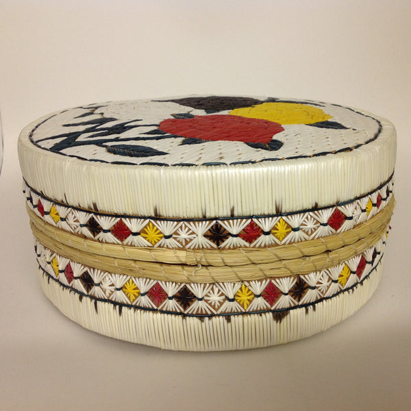 Flower & Sacred Colours Quill Box