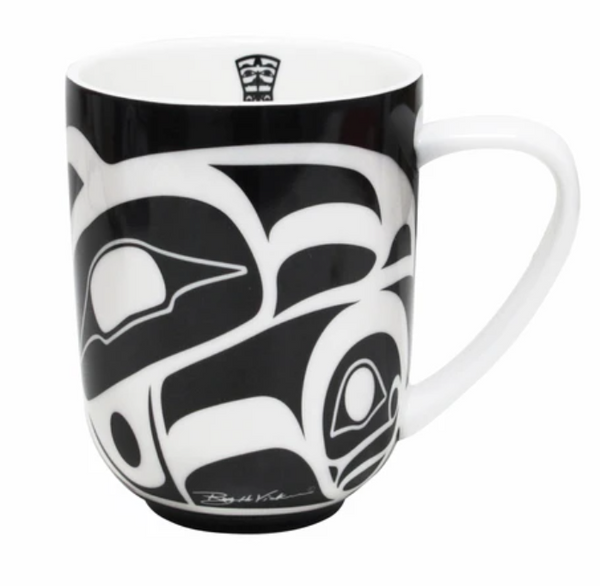 Raven Mug by Roy Henry Vickers