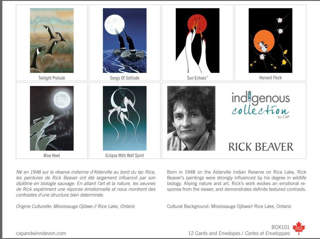 Rick Beaver Boxed Note Cards