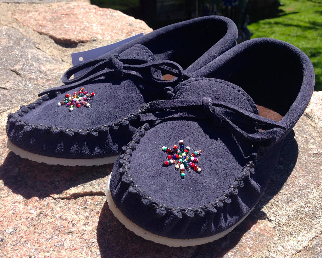 Navy Blue Rock-N-Mocs