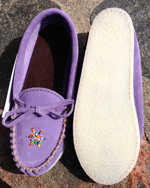 Purple Rock-N-Mocs Ladies