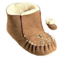 Roll-top Sheepskin Moccasin