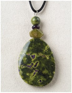 Stichtite Serenity Medicine Stone Necklace