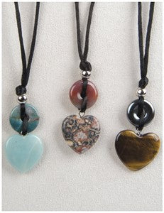 Sweetheart Medicine Stone Necklace