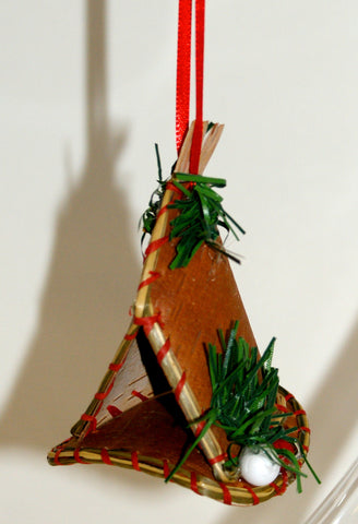 Birch Bark Teepee