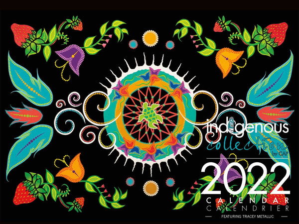2022 Calendar by Tracey Metallic