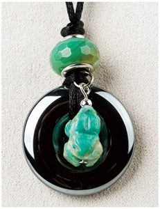 Turquoise Frog Medicine Stone Necklace