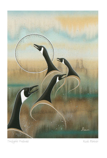 Rick Beaver Ojibway Artist Box Set Note Cards