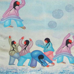 Winter Helmo Silk Scarves