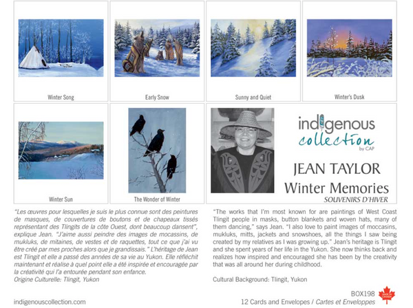 Winter Memories Boxed Note Cards