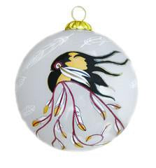Eagle's Gift-Glass Ornament